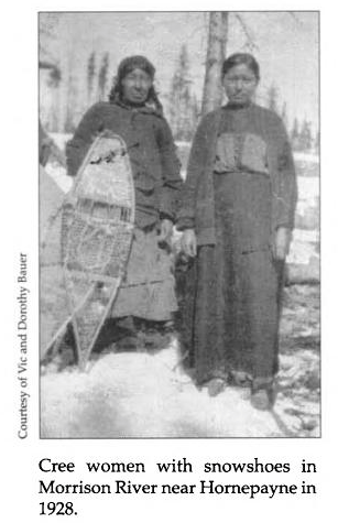 Cree Women near Hornepayne 1928